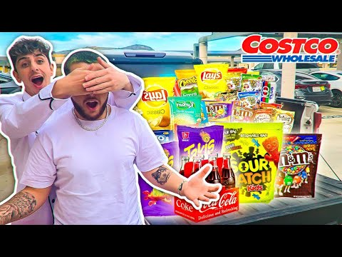 WE SURPRISED HIM WITH $10,000 WORTH OF CANDY & SNACKS !!!!