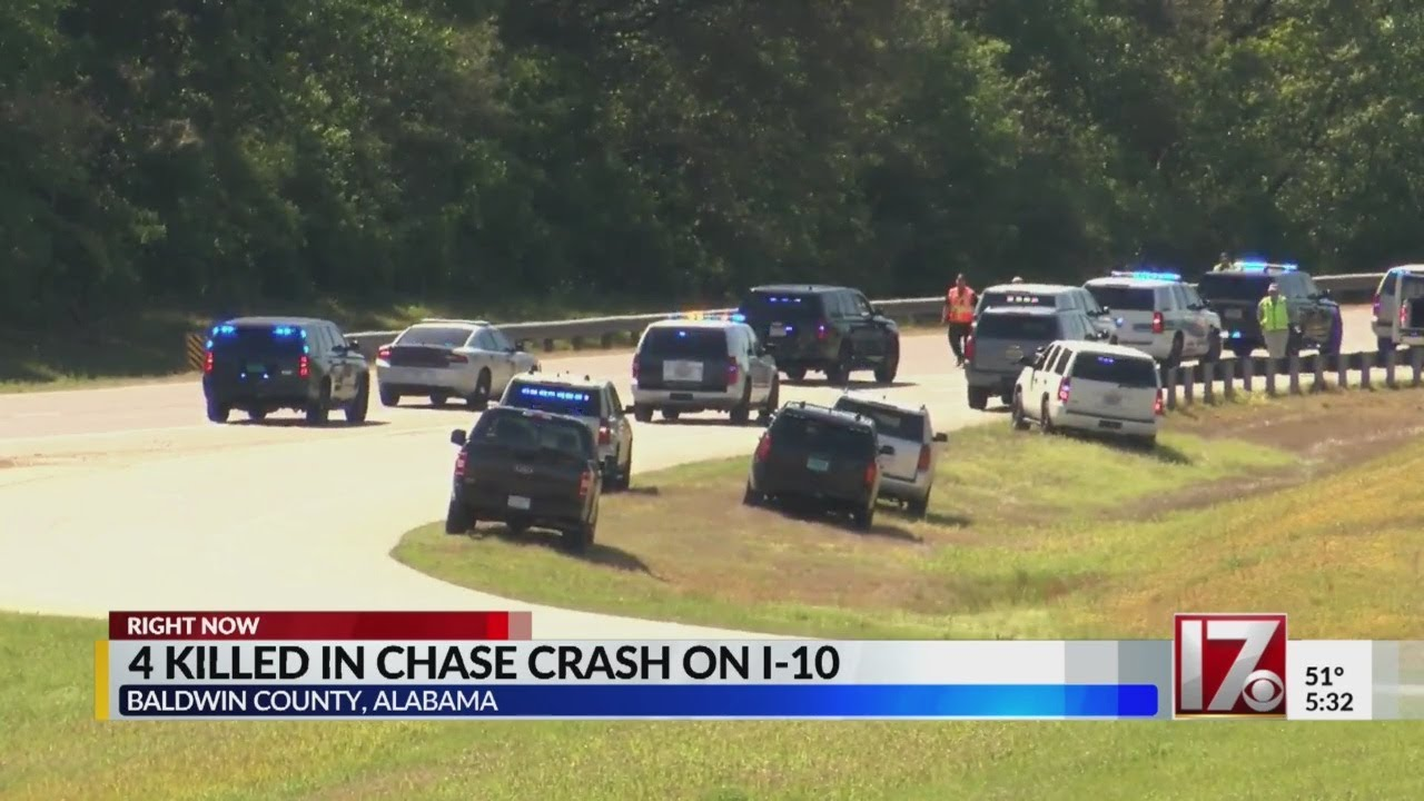 Fiery crash on Alabama highway
