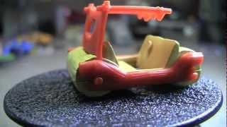 2013 Hot Wheels The Flintstones Flintmobile : Closer Look!