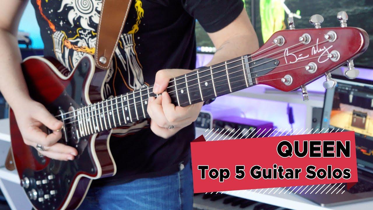 Download Top 5 Guitar Solos: Queen