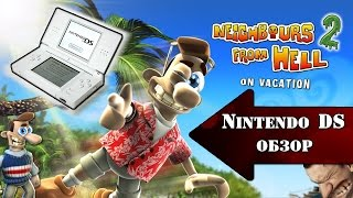neighbours From Hell Nintendo DS Review (Как достать соседа)
