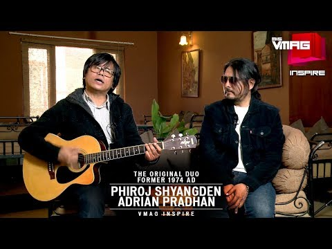 Former 1974 AD Phiroj Syangden and Adrian...