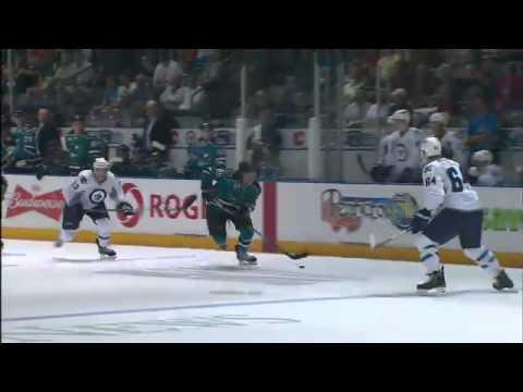 Winnipeg Jets defeat San Jose Sharks 4-0 at the Young Stars Tournament