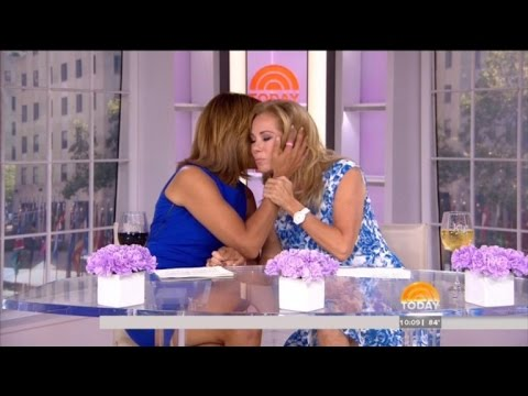Kathie Lee in Tears Describing How Frank Gifford Passed Away