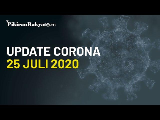 BREAKING NEWS: Update Kasus Virus Corona di Indonesia per Sabtu, 25 Juli 2020, +1.868 Kasus Positif