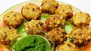 Sabudana Vada (sago Patties ) Recipe | Navratri Special