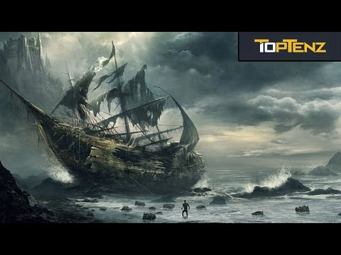 Top 10 FEARSOME PIRATE SHIPS