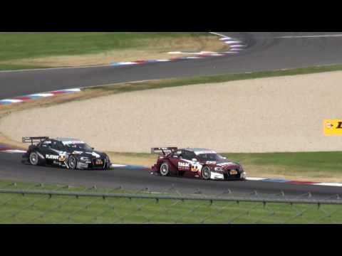 DTM 2010 auf dem EuroSpeedway: Markus Winkelhock dicht hinter Oliver Jarvis