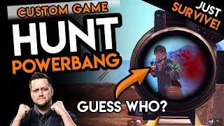 """EVERYONE """"HUNT POWERBANG"""" 😳 - PUBG Mobile CUSTOM GAME"""