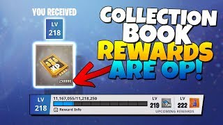 COLLECTION BOOK REWARDS ARE OP! | Fortnite Save The World