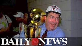 Jerry Krause, Bulls GM as Chicago won six NBA championships, dead at 77