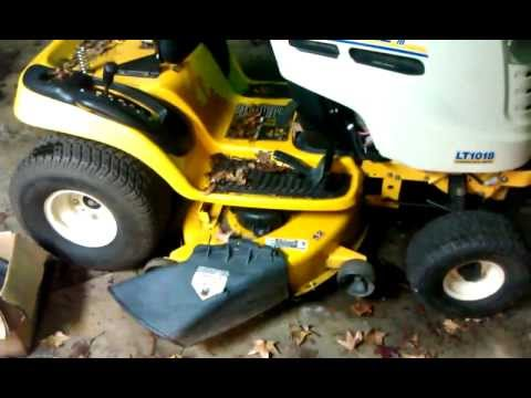 cub cadet problem solved and update - 11/20/11 - YouTube