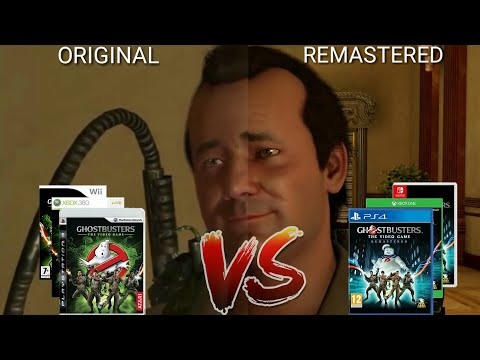 Ghostbusters: The Video Game Remastered   Original VS Remastered Gameplay Comparison