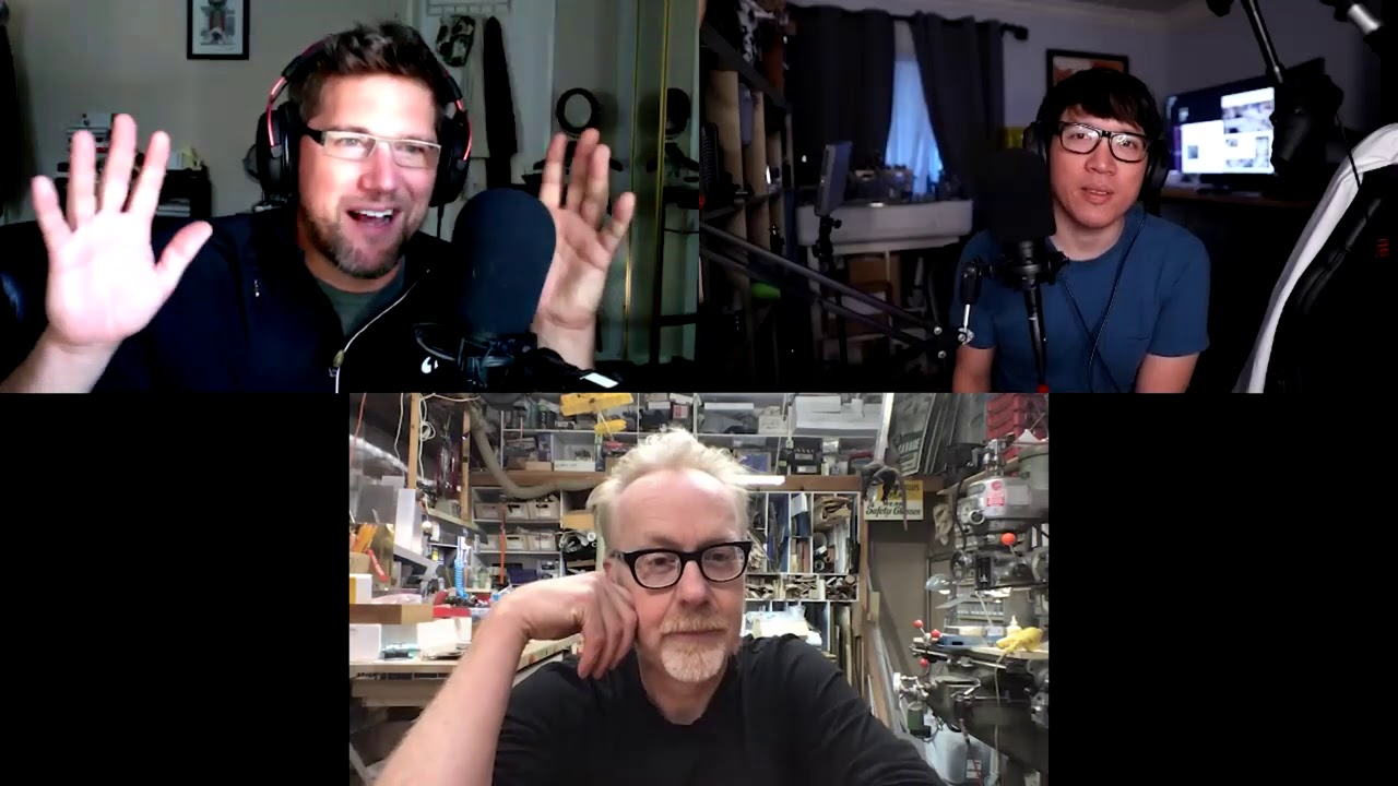 Comfort Movies During Lockdown - The Adam Savage Project - 10/27/20