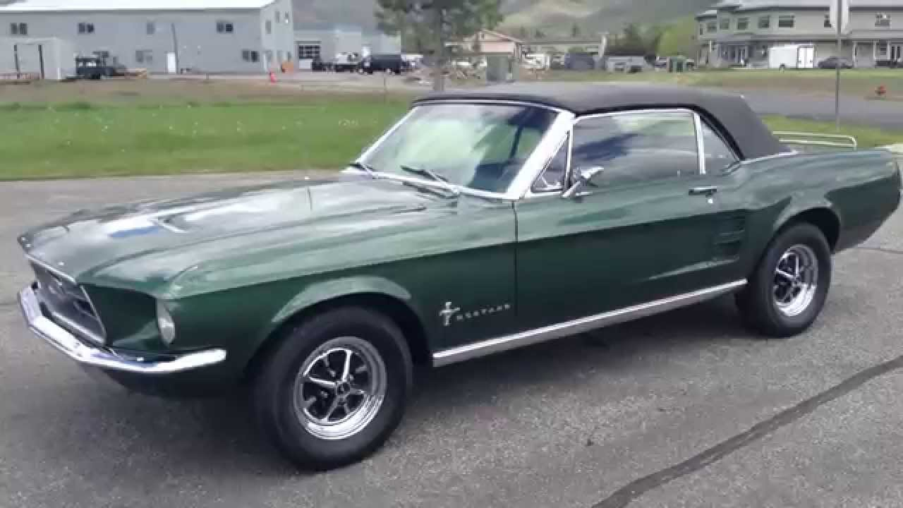 Test drive 2 1967 ford mustang sold at the sun valley auto club