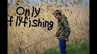 Only fly fishing  Ловля плотвы нахлыстом весной