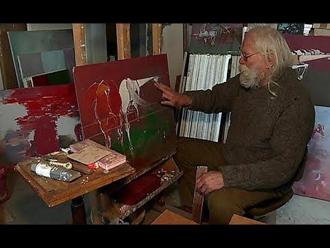 Wystawa prac Wiktora Dżochowskiego i pomoc artyście