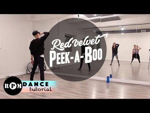 "Red Velvet ""Peek-A-Boo"" Dance Tutorial (Pre-Chorus, First Chorus)"