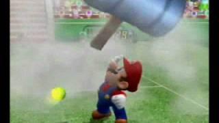 Mario Power Tennis - Koopa Troopa vs. Star Mario (Ace)