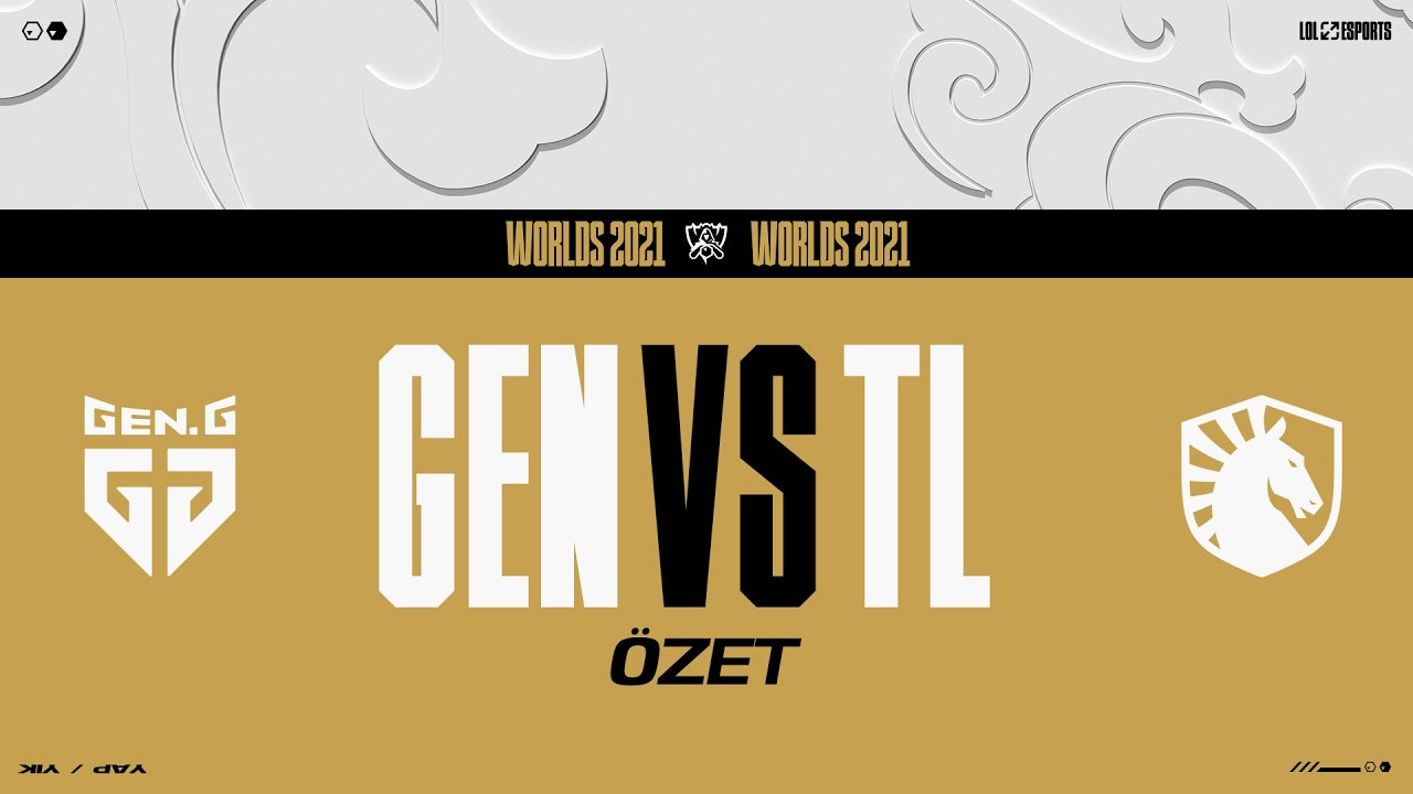 Download Gen.G (GEN) vs Team Liquid (TL) Tiebreak Maçı Özeti | Worlds 2021 Grup Aşaması 7. Gün