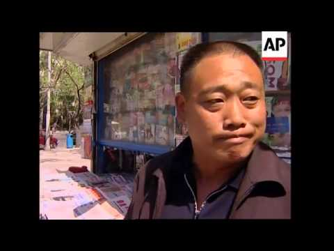 Vox pop reaction to release of hostages in Iraq