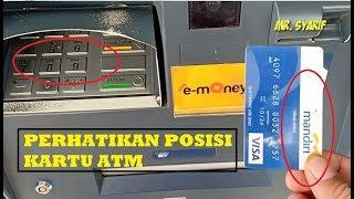 Cara Tarik Tunai ATM Mandiri, Gampang Banget Gaess