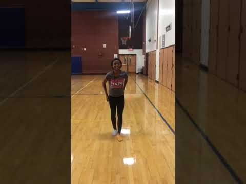 Parker Junior High School cheer tryouts 2018