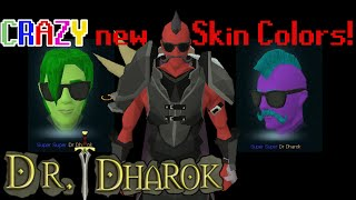 23 Crazy New RuneScape Skin Colors! [RS3 Chameleon Dyes]