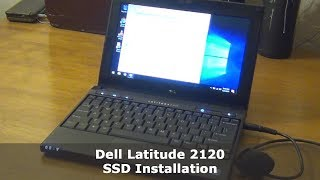 Dell Latitude 2120 SSD Installation