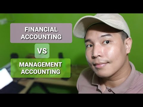 Financial and Management Accounting in 7 minutes
