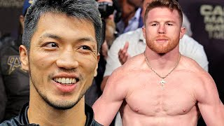 "RYOTA MURATA BIG TIME DISSES CANELO ""I WANT A FIGHT WITH HIM WITHOUT MEXICAN BEEF!"""