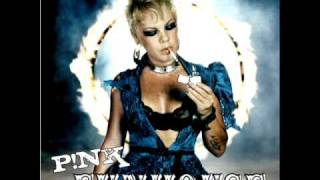 Pink - Sober (Junior Vasquez Edit Mix) - HQ - Custom Cover - FallingFairytale First - Lyrics