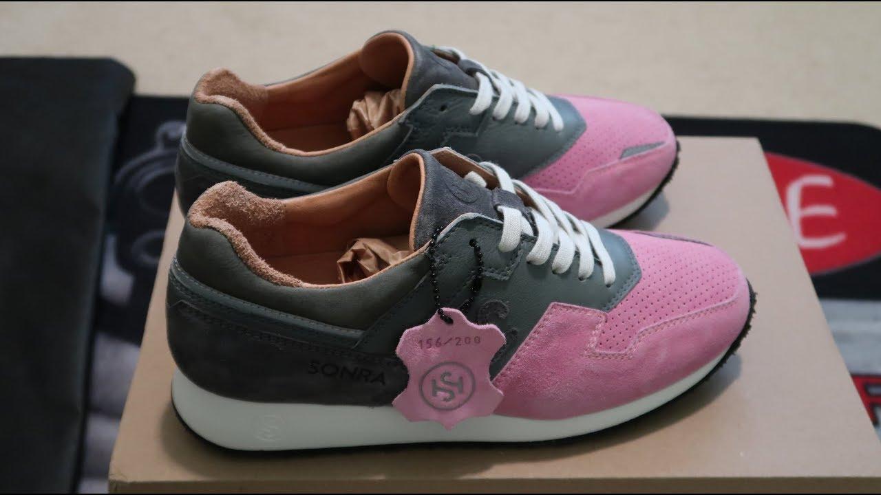 7b77f01d085e SONRA proto (PINK ROBIN) Sneaker Unboxing - YouTube