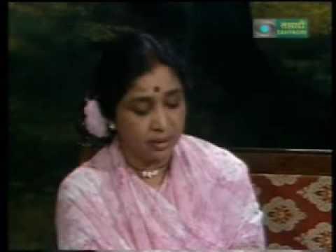 Asha Bhosle - Marathi Live - majha hoshil ka