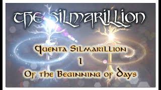 The Silmarillion - Quenta Silmarillion I - Of the Beginning of Days (VERY IMPORTANT!) (ASMR) Video