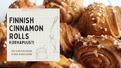 Finnish Cinnamon Rolls / Korvapuusti
