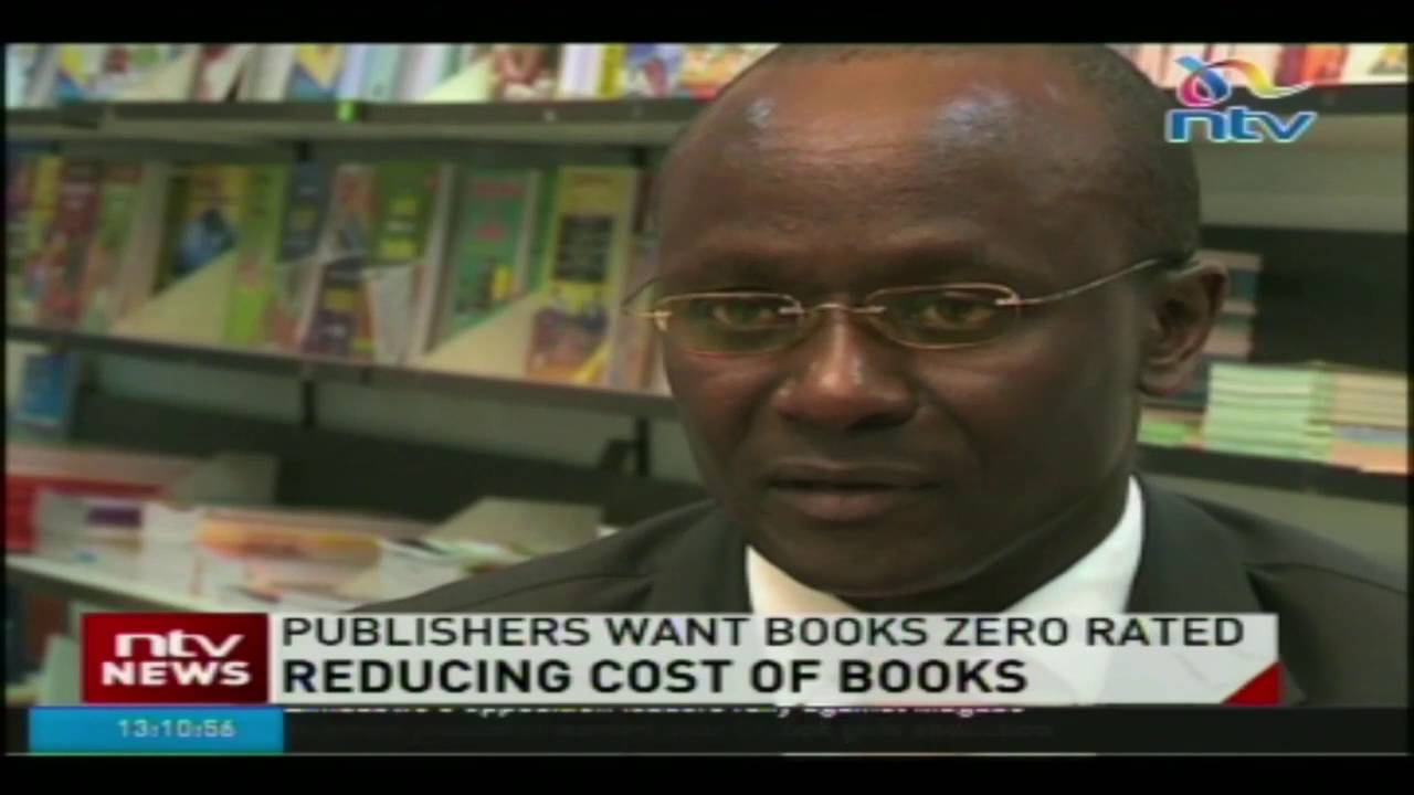 Publishers want books zero rated