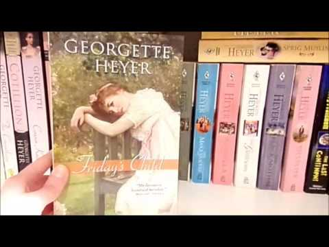 My Georgette Heyer Romance Collection + 5 Favorites
