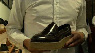 Pitti Uomo, scarpe con zeppone, è la nuova gamma di Clarks