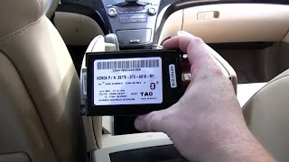 How to fix Battery Drain on a 2007 Acura MDX - (Replace Failed Bluetooth / Hand Free Link Module)