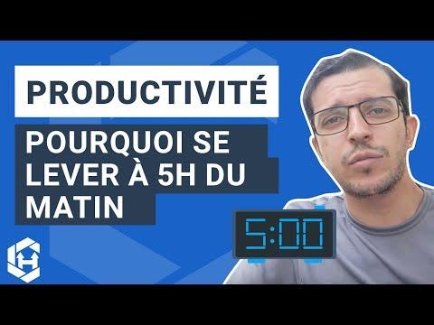Se lever à 5h du matin : Bénéfique pour votre productivité ? - Hack #29