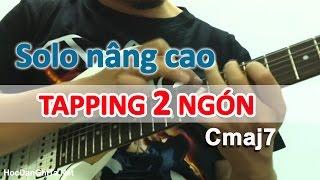 Học solo guitar điện - Hướng dẫn câu tapping lick Cmaj7 [HocDanGhiTa.Net]