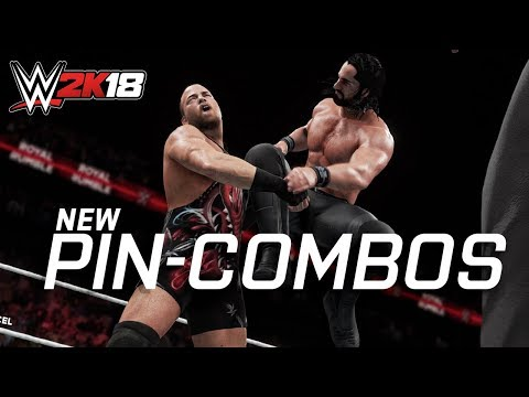 WWE 2K18 All new pin-combos (animations)