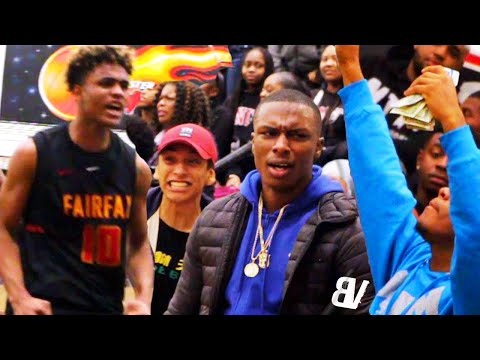 Fairfax VS Westchester RIVALRY GAME GOT HEATED RIGHT AWAY! Keith Dinwiddie GOES OFF!