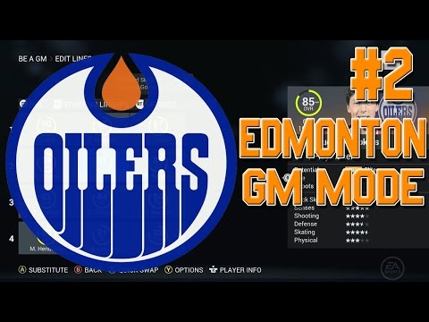 NHL 16 GM Mode #2 l Trading EVERYONE! HUGE TRADES! l Edmonton Oilers