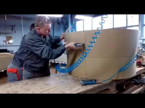 Цех по сборке каркасов на производстве мягкой мебели. Корпорация Профи