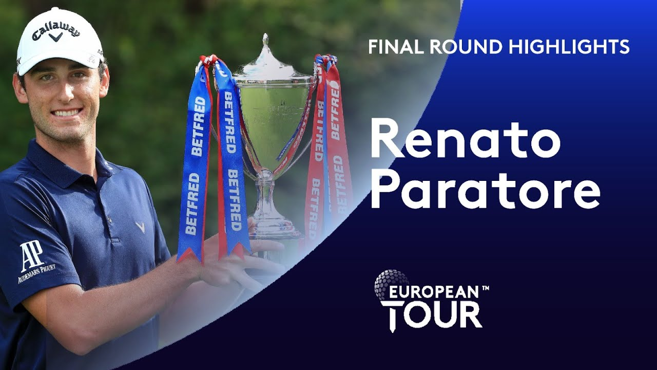 Renato Paratore wins the 2020 Betfred British Masters | Final Round Winning Highlights