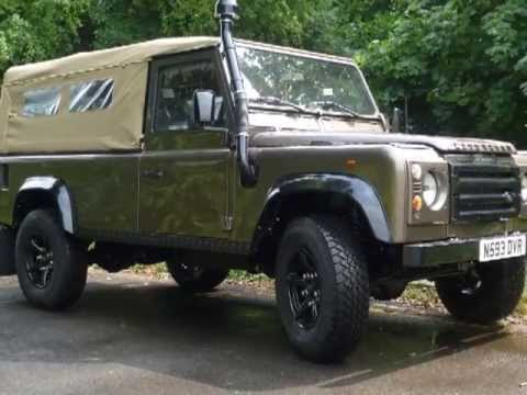 Liveridge Land Rover Defender 110 Soft Top Youtube