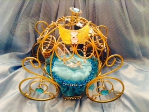 Cinderella S Carriage Party Wedding Decoration Youtube