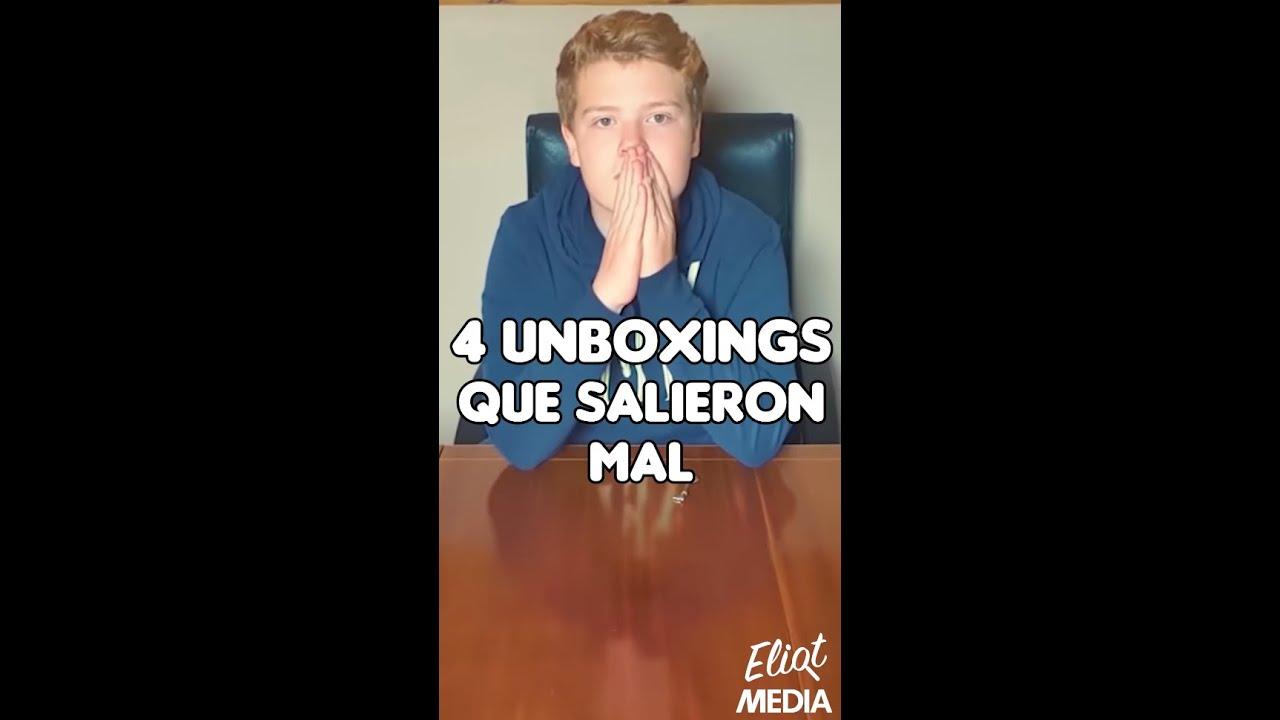 4 UNBOXINGS QUE TERMINARON BASTANTE MAL... #Shorts